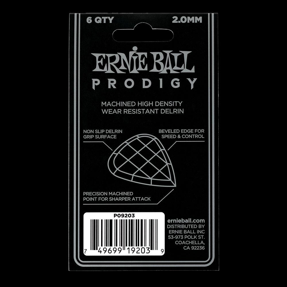 Prodigy Picks 2mm White Mini