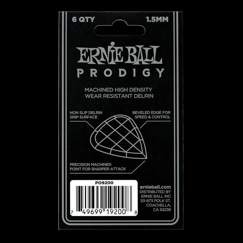 Prodigy Picks 1.5mm Black Mini